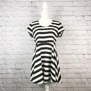 Show Me Your Mumu Striped Short Sleeve Mini Dress